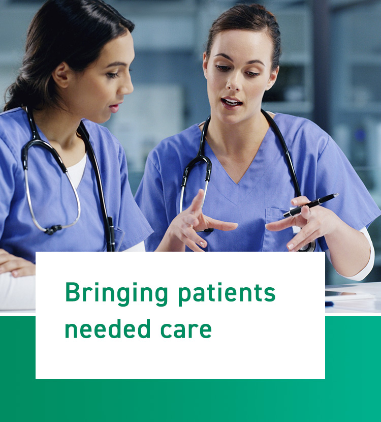 Bringing patients need care